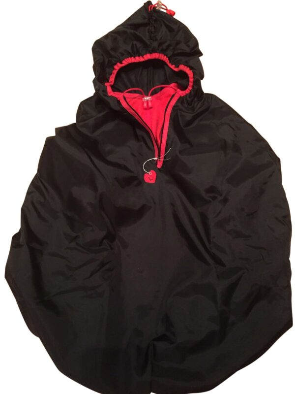 Raincoat for dog backpack