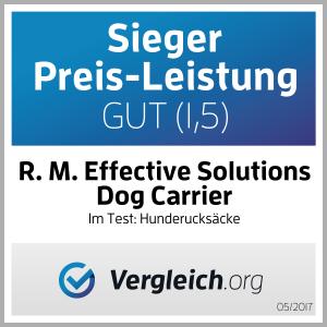 der Dog carrier Hunderucksack als Testsieger