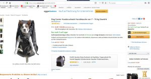 Review Hunderucksack/Dog Weam Dog carrier for dogs up to 30kg