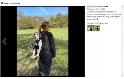 Hunderucksack Pet carrier